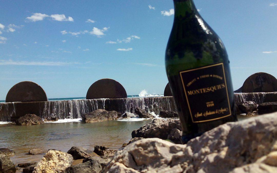 El verano y Cavas Montesquius