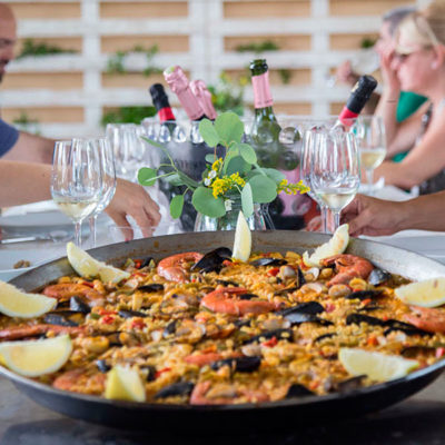 showcooking paella