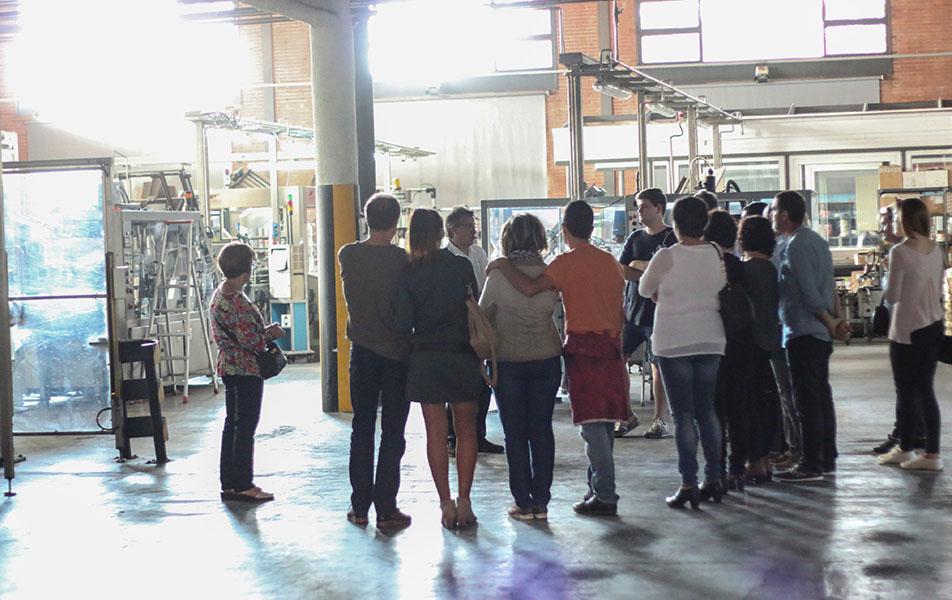 visita factory montesquius